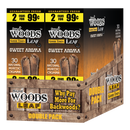 Good Times Sweet Woods 2 for 99¢ 30 Pouches of 2 Sweet Aroma