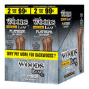 Good Times Sweet Woods 2 for 99¢ 30 Pouches of 2 Platinum