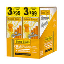 Good Times Double Pack Cigarillos 3 For 99c Champagne 30 Pouches of 3