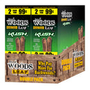 Good Times Sweet Woods 2 for 99¢ 30 Pouches of 2 Kush