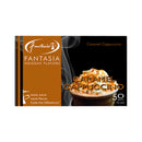 Fantasia Caramel Cappucino Hookah Tobacco 10 Packs of 50g