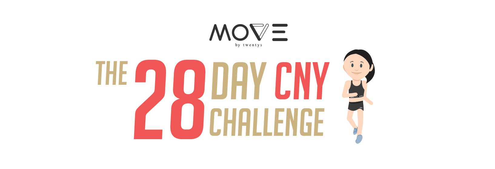 MOVE by Twenty3 The 28 Day CNY Challenge: Achieve Your Health and Fitness Goals