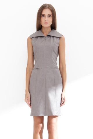 Twenty3 - Teagan Dress in Grey -  - Dresses - 1