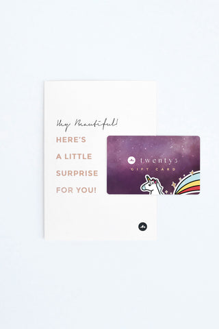 Twenty3 - Galaxy Unicorn Gift Card -  - Gift Card - 1