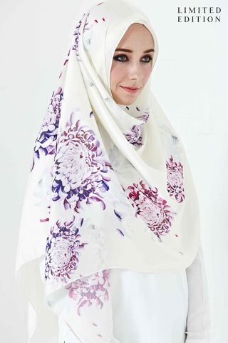 [LIMITED EDITION] Alyssia Scarf in Aloe Prints - Headscarf - Twenty3