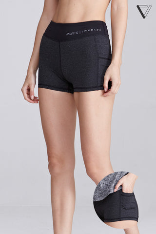 Blaque Shorts in Dark Grey - Sports Shorts - Twenty3