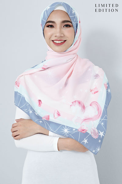 [LIMITED EDITION] Nabella Scarf in Light Pink - Headscarf - Twenty3