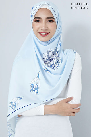 [LIMITED EDITION] Zalna Scarf in Light Blue