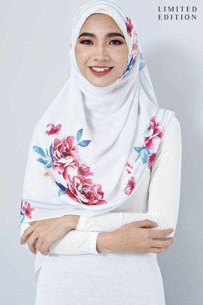 [LIMITED EDITION] Nurin Scarf in Florals - Headscarf - Twenty3
