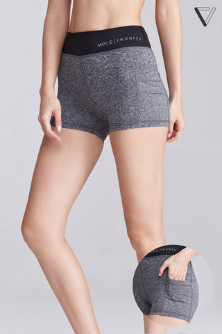 Blaque Shorts in Light Grey