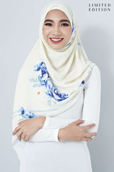 [LIMITED EDITION] Nurin Scarf in Light Yellow - Headscarf - Twenty3