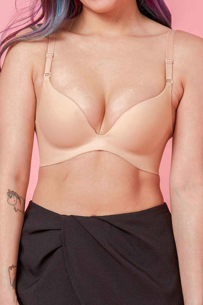[PRE-ORDER] Seamless Push-up Bra in Nude
