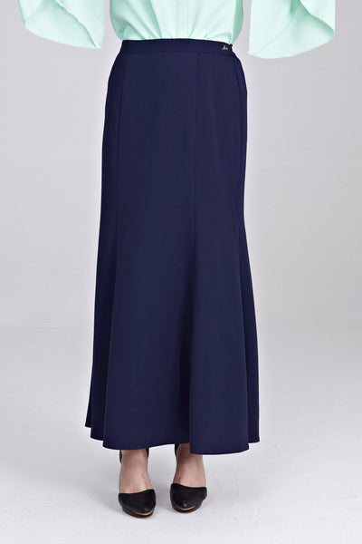 Zira Maxi Skirt in Navy Blue