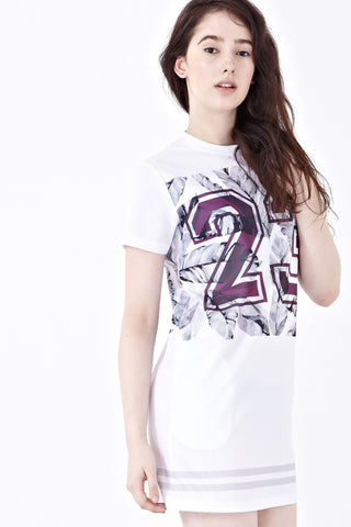 Twenty3 - Rique Football Jersey Dress in Graphic Prints -  - Dresses - 1
