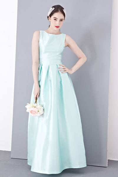 Twenty3 - Madolen Bridal Gown in Mint -  - Maxi Dress - 1