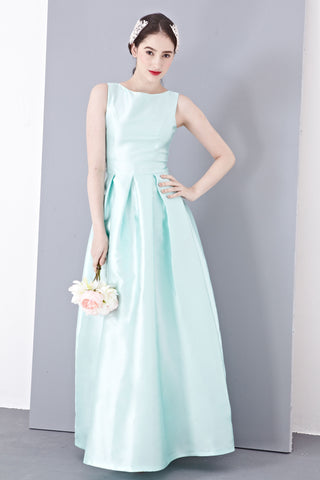 Madolen Bridal Gown in Mint - Maxi Dress - Twenty3