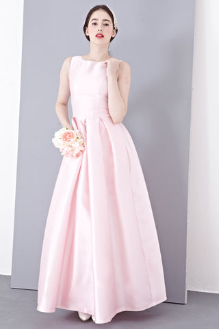 Madolen Bridal Gown in Baby Pink - Maxi Dress - Twenty3