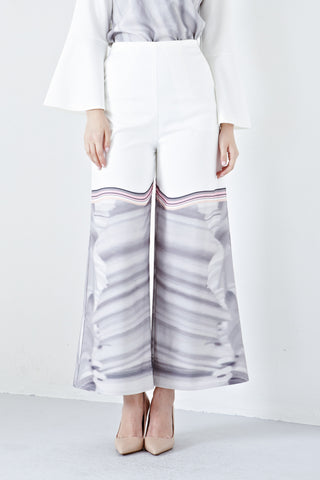 Azraa High Waist Culottes in Ana Prints