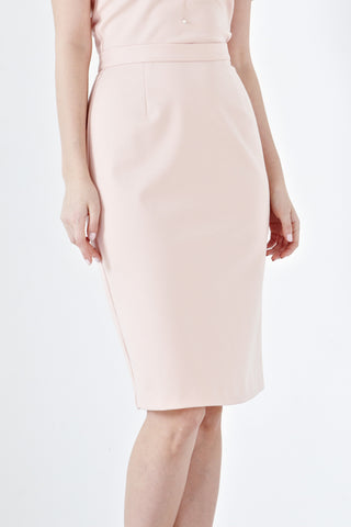 Twenty3 - Cosette High Waist Pencil Skirt in Dusty Pink -  - Bottoms - 1