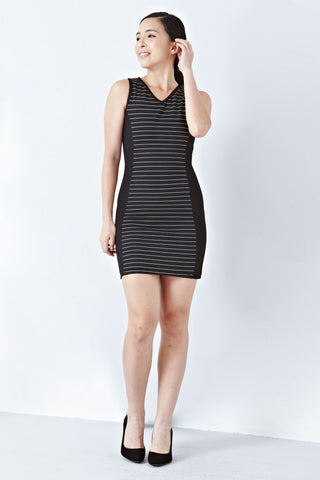 Twenty3 - Zinnia Bodycon Dress in Black -  - Dresses - 1
