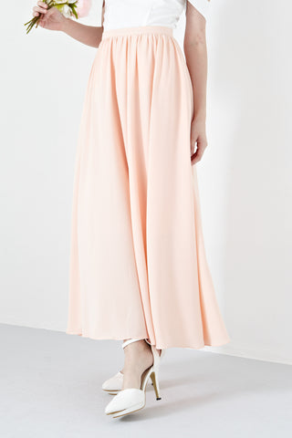 Twenty3 - Aceline Maxi Skirt in Peach -  - Bottoms - 1