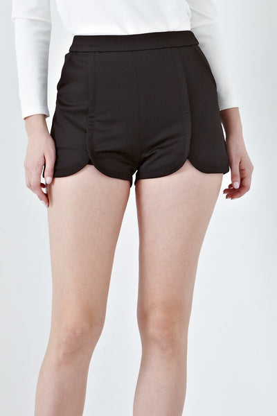 Twenty3 - Blithe Shorts in Black -  - Bottoms - 1