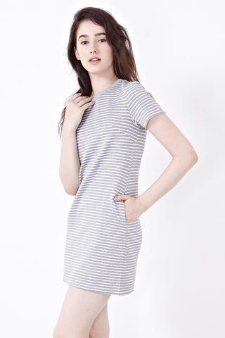 Twenty3 - Lucie Dress in Grey -  - Dresses - 1
