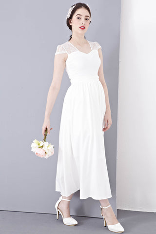 Twenty3 - Josette Maxi Dress in White -  - Dresses - 1