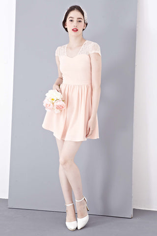 Twenty3 - Josette Dress in Peach -  - Dresses - 1