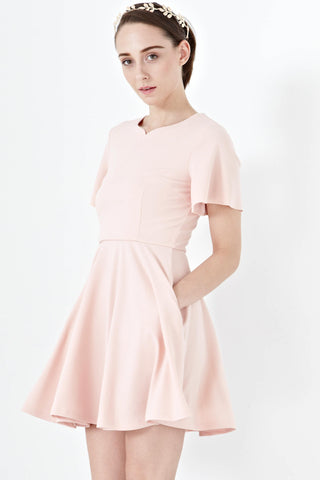 Twenty3 - Katniss Skater Dress in Pink -  - Dresses - 1