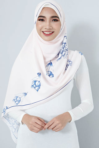 [LIMITED EDITION] Zalna Scarf in Light Pink
