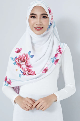 [LIMITED EDITION] Nurin Scarf in Florals