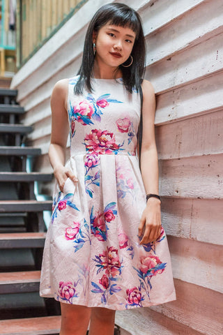 Ferona Skater Dress in Floral Prints