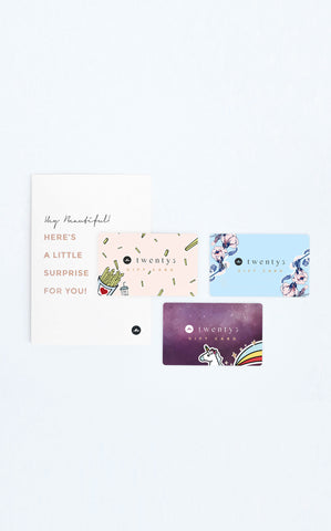 Twenty3 - Signature Florals Gift Card -  - Gift Card - 2