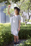 Twenty3 - Addie Oversized T-Shirt Dress in Light Grey -  - Dresses - 2