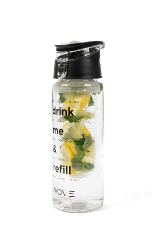 BPA-free Infuser Bottle in Black