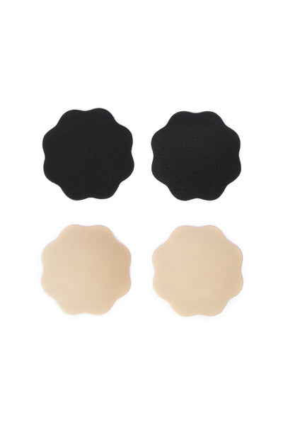 Two Pairs of Fabric Adhesive Nipple Covers - Accessories - Twenty3