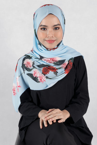 [LIMITED EDITION] Heliza Scarf in Light Blue - Headscarf - Twenty3