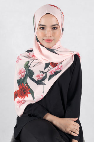 [LIMITED EDITION] Heliza Scarf in Pink - Headscarf - Twenty3