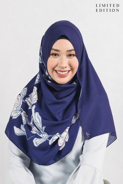 [LIMITED EDITION] Mireya Scarf in Navy Blue