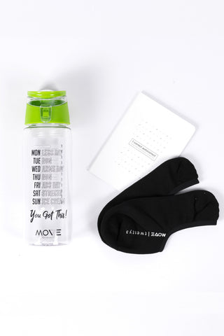 BPA-free Infuser Bottle in Green