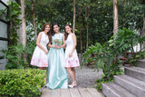 Twenty3 - Madolen Bridal Gown in Mint -  - Maxi Dress - 7