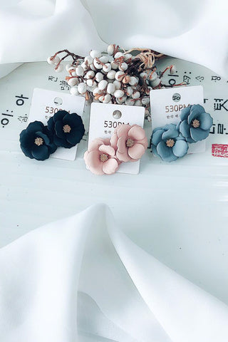 Whole Flower Earrings