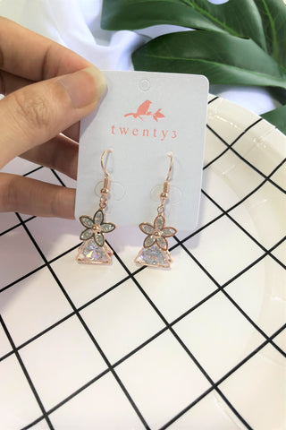 Flowerdrop Earrings