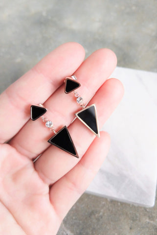 Triangular Earrings