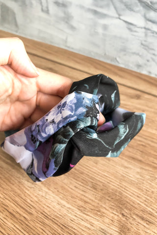 Knot Turban Elastic Headband Galaxy