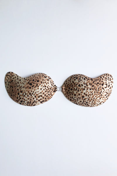 V Backless Bra in Leopard Prints