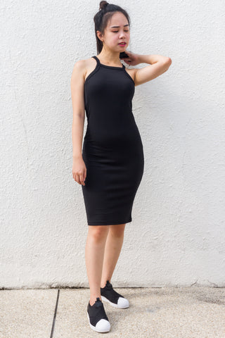 Emily Bodycon Dress in Black