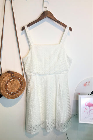 Eden Dress in White
