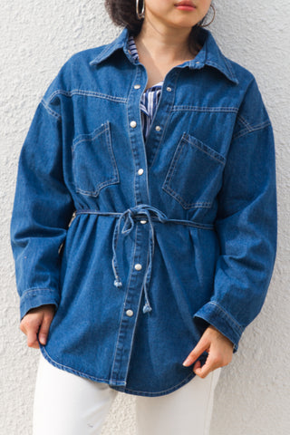 Smith Long Sleeves Denim Outerwear